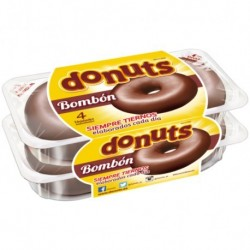 Chocolate Donuts x 4