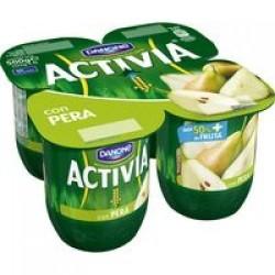 Activia Pear Yoghurt 4 x 125g