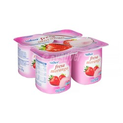Strawberry Yoghurts 4 x 125g