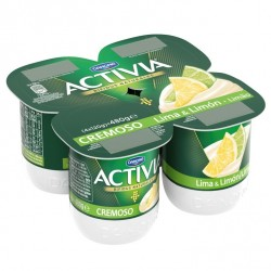 Activia Lime/Lemon Yoghurt...