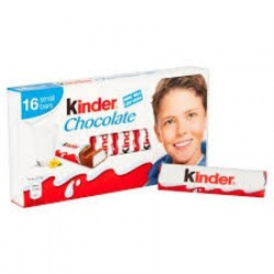 Kinder Chocolate Individual Bars 100g