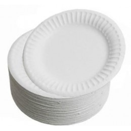 Paper Plates 20cm x 100