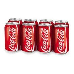 Coca Cola Can x 8