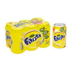 Fanta Lemon Can x 8