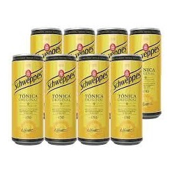 Schweppes Tonic Can x 8