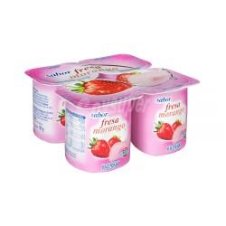 Strawberry Yoghurts 4 x 125g