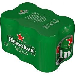 Heineken Can (6 Pack)