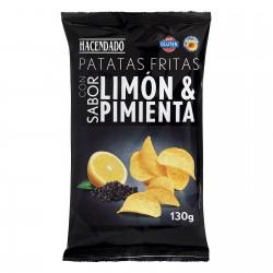 Lemon & Pepper Crisps 130g