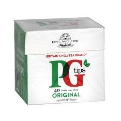 PG Tips 40 Tea Bags