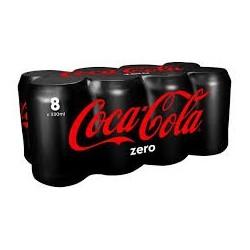 Coca Cola Zero Can x 8