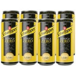 Schweppes Tonic Zero Can x 8